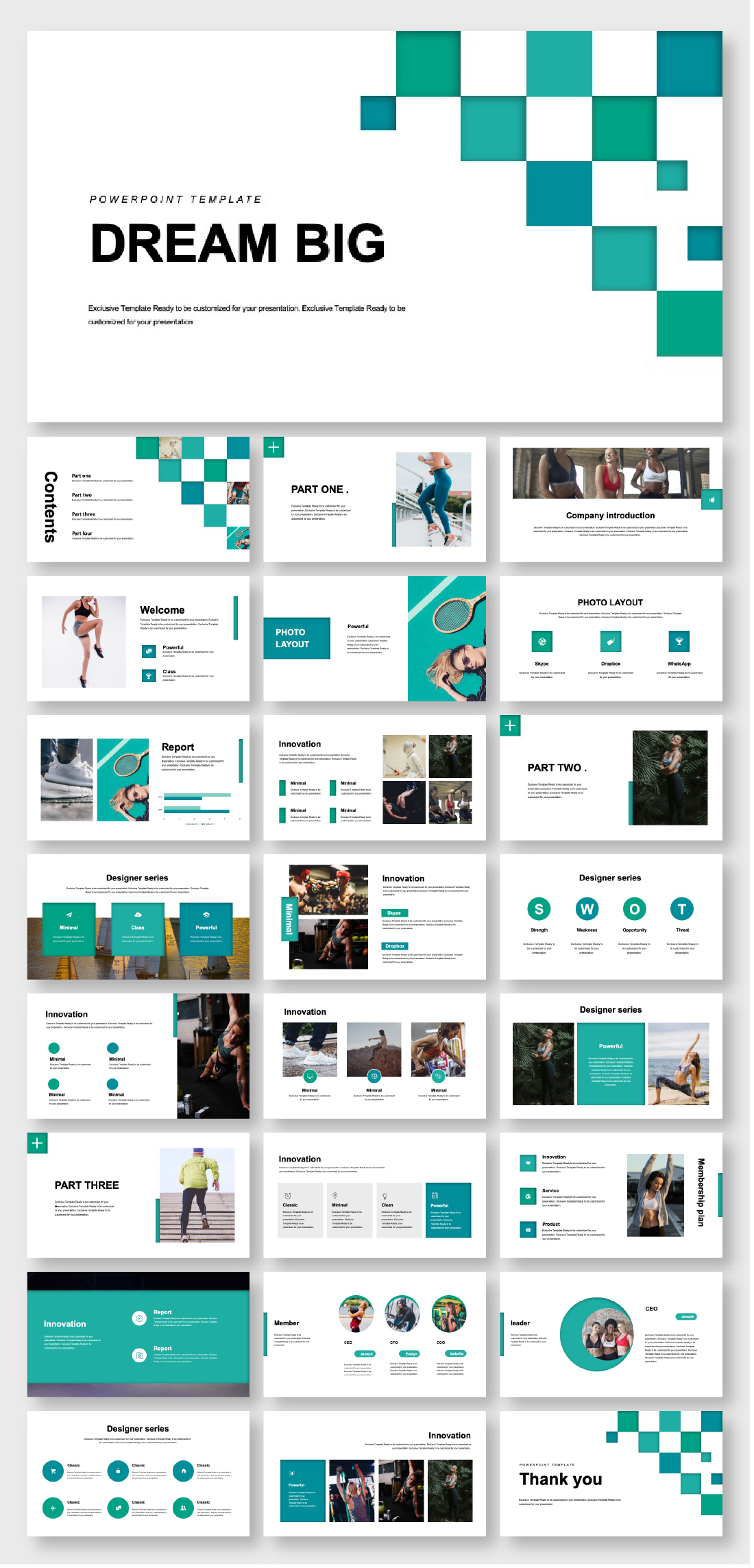 A Complete Project Introduction Presentation Template
