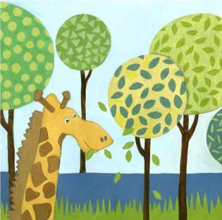 Jungle Fun III by  Megan Meagher