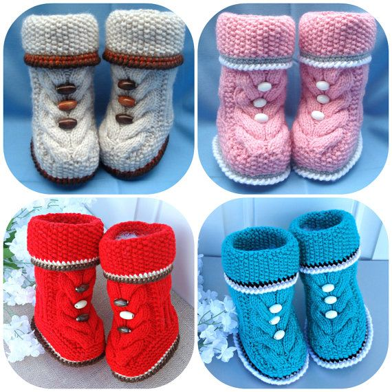 P A T T E R N Baby Booties Baby Shoes Pattern Knitted Baby Booties