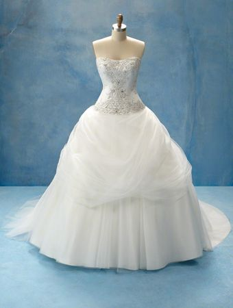 Disney Princess wedding dress - this one is based on Belle\'s dress ...