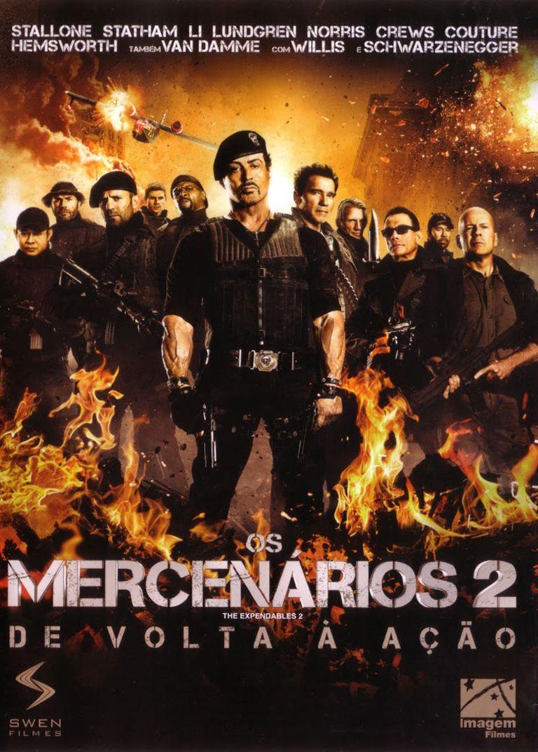 2012 Os Mercenarios 2 De Volta A Acao Filmes De Acao Sylvester Stallone Filme De Acao Completo