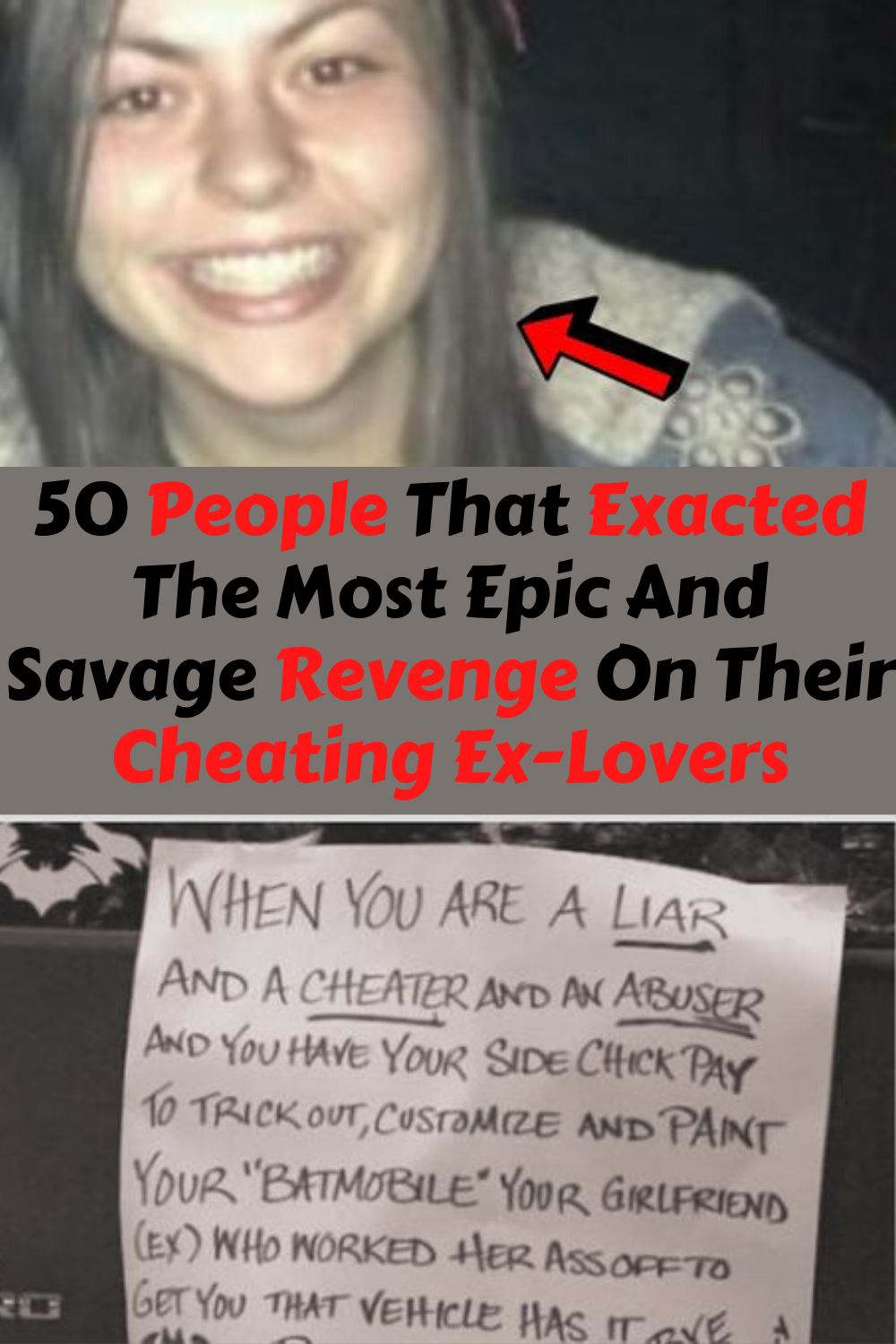 50 People That Exacted The Most Epic And Savage Revenge On Their Cheating Ex Lovers In 2020 Good Jokes Revenge Funny Jokes