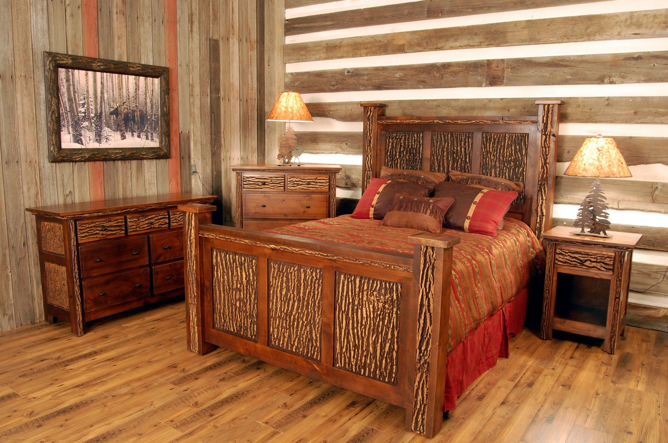 images about Rustic Bedrooms on Pinterest Shops Copper
