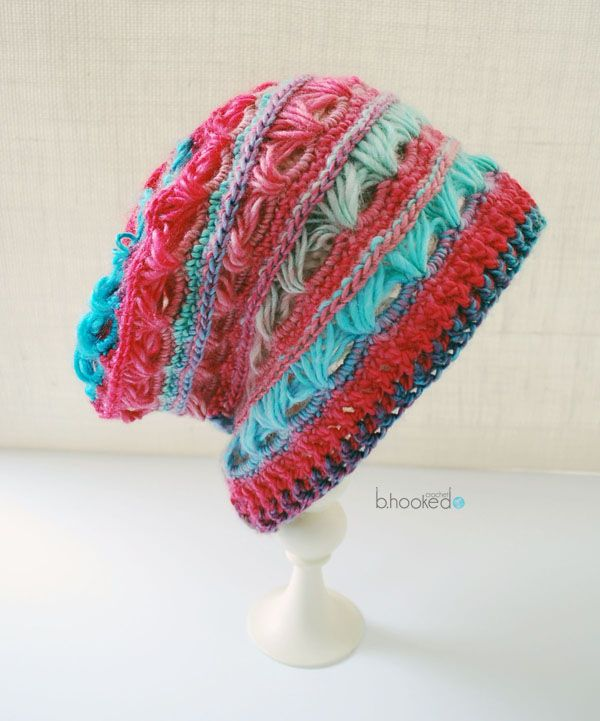 Urban Broomstick Lace Slouchy Hat | Pinterest | Wolle, Stricken und ...