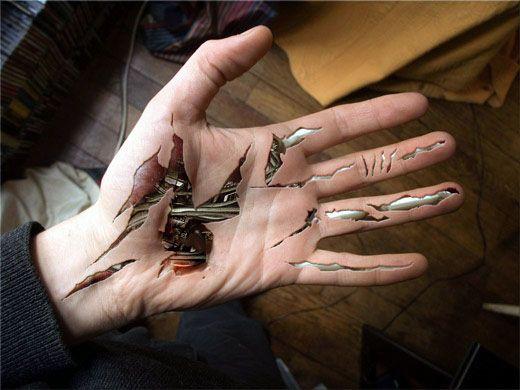 Biomechanical Tattoo Hand Amazing Biomechanical Tattoos Pinterest