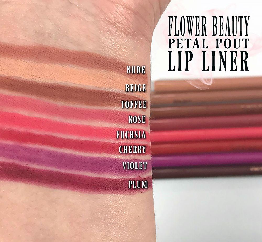 Flower Beauty Petal Pout Lip Liner Make Me Up Pinterest Lips