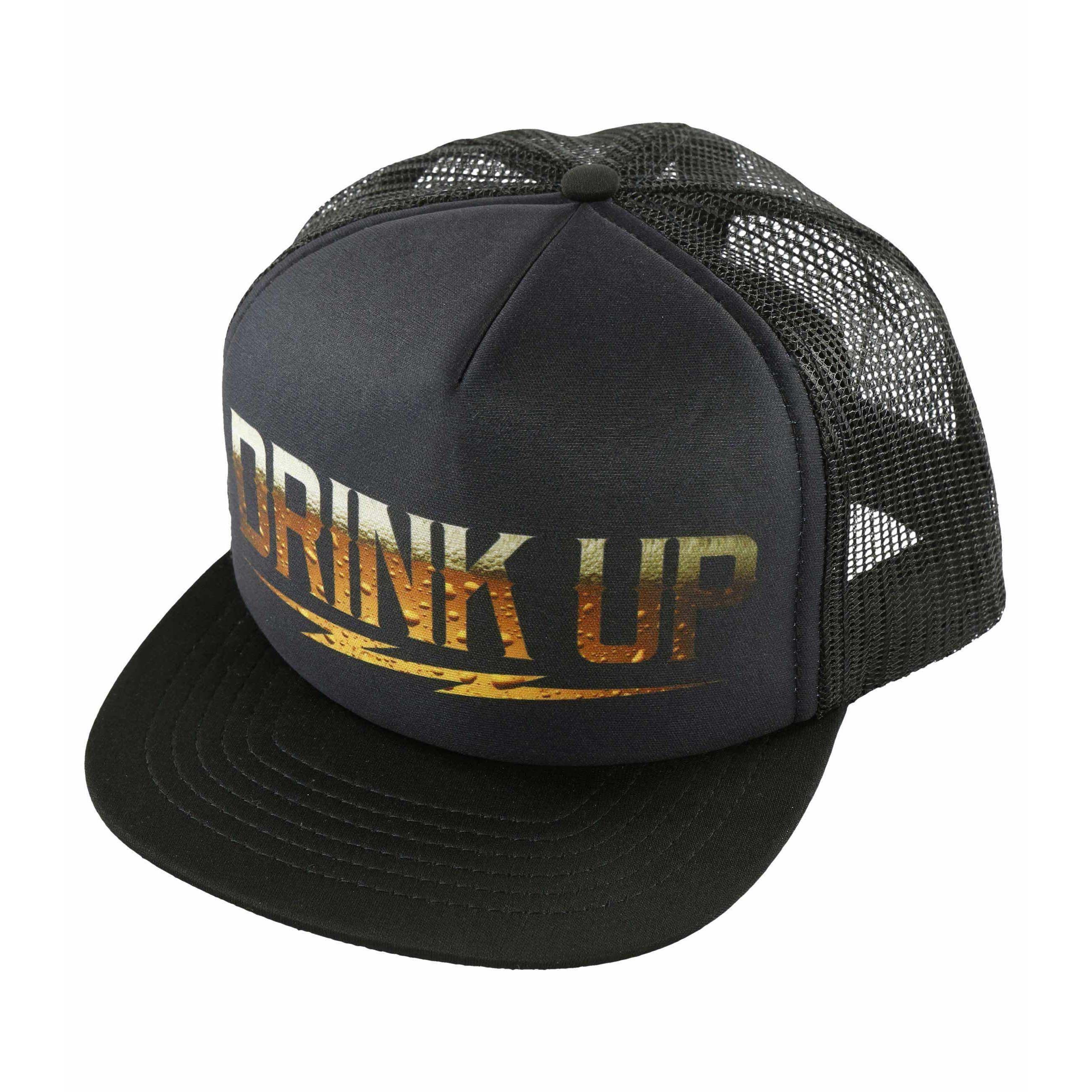 46de8ca24e7 Metal Mulisha Men s Drink Up F.U. Trucker Hat with Bottle Opener ...