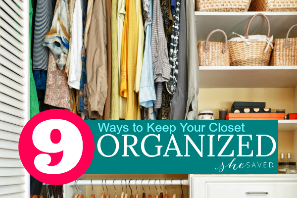 9 Ways to Achieve Closet Organization Are you happy with your closet? I've been on a mission to achieve closet organization and I thought I would share with you some of my best tips. For me, it's been a constant struggle but definitely something that I've worked hard on this year. Thanks to one of …