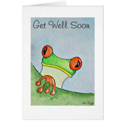 Tree frog greeting card birthday cards pinterest tree frogs tree frog greeting card card birthday cards invitations party diy personalize customize celebration m4hsunfo