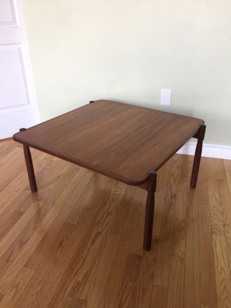 Mid Century Modern Teak Coffee Table | Coffee Tables ...