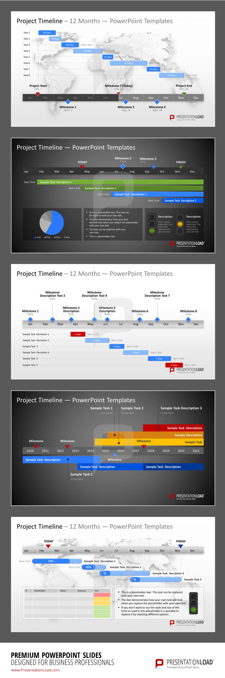 Project Timeline PowerPoint Template  presentationload www     Project Timeline PowerPoint Template  presentationload www presentationl