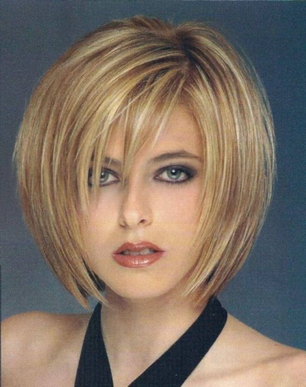 short bob haircuts is among the cuts that best suit thin hair thin
