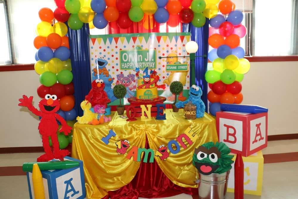 Birthday Party Ideas Elmo sesame street Sesame streets and Elmo
