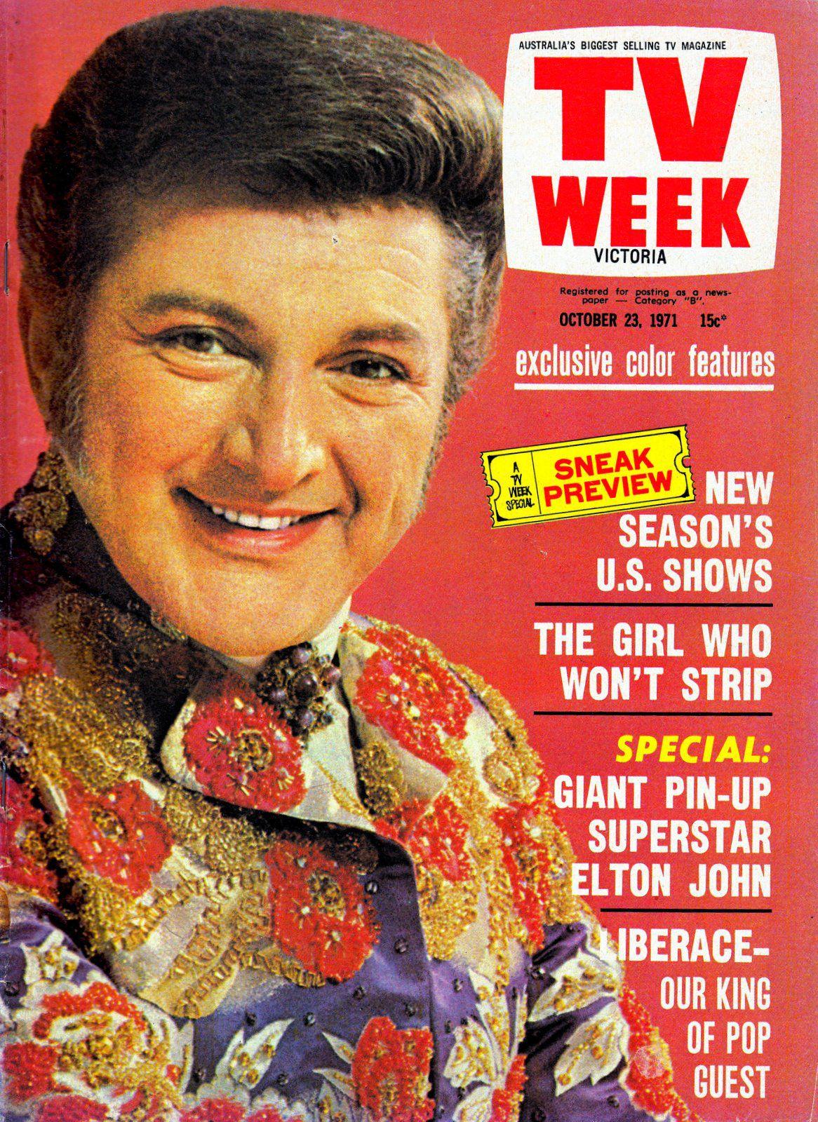 TV Week, Victoria, Australia