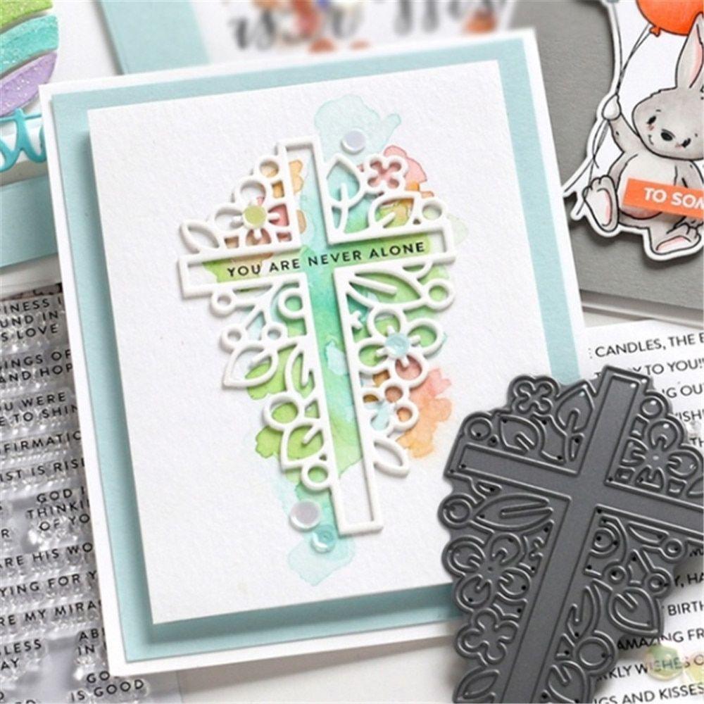 New Metal Cutting Dies Scrapbooking Embossing Stencil DIY Crafts Album Gift Card