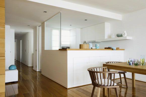 Innenarchitektur offene küche  Abtrennung für offene Küche | Kitchen | Pinterest | Offene küche ...