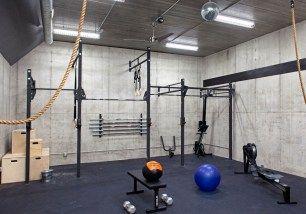 23 diy workout room makeover 8 in 2020  home gym decor