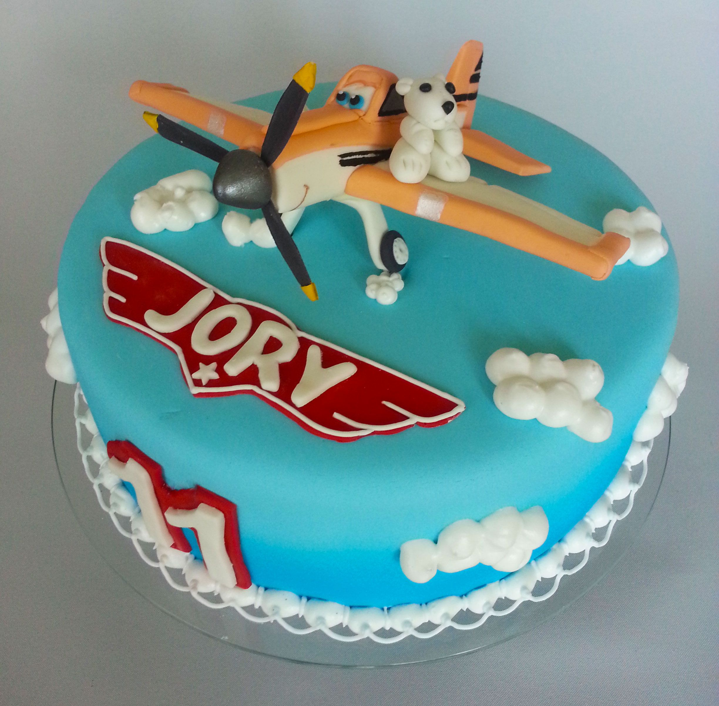 made this cake for my sons birthday last week