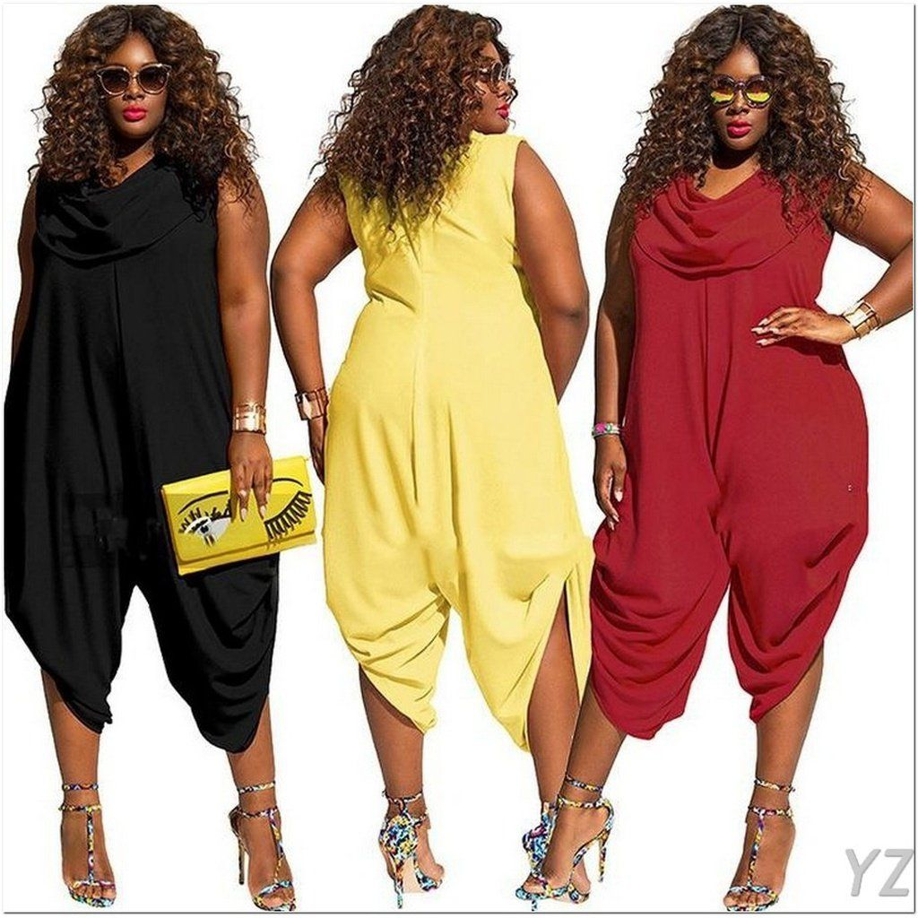 6df43b7c897  YYZZ  NEW Black Loose One Piece Jumpsuit Summer Rompers Womens Jumpsuit  Sexy Club Party
