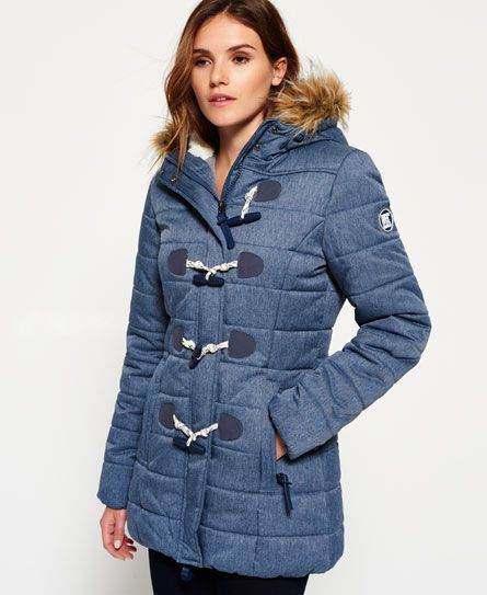 Superdry Tall Marl Toggle Puffle jack | Coats Jackets Parkas ...