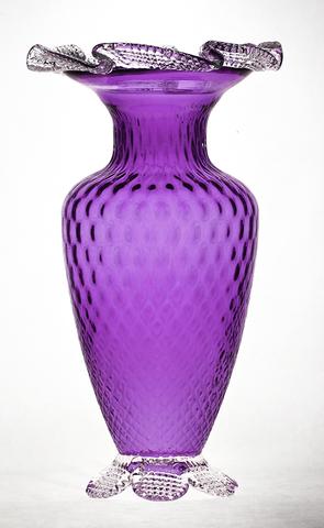 Purple Glassware Purpleglasstimelessvasepurple Glass Purple