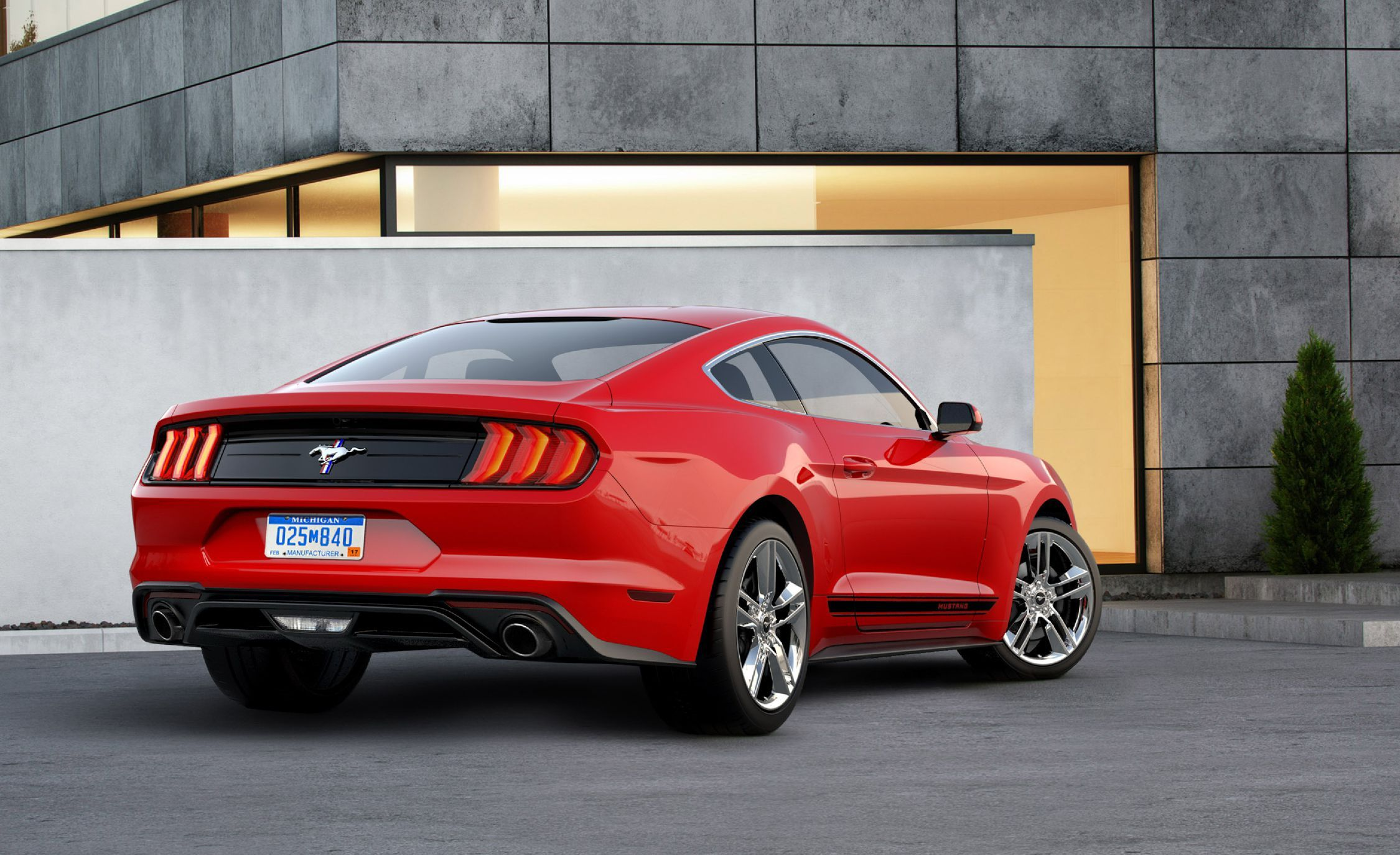 Best Of 2018 ford Mustang Red