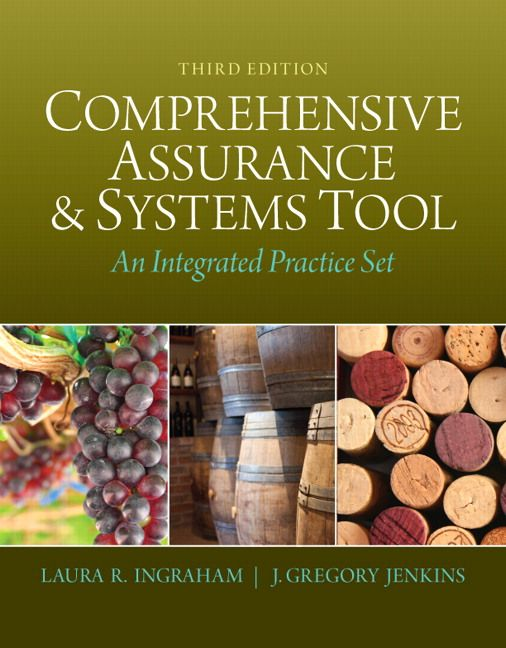 Solution manual for comprehensive assurance and systems tool cast comprehensive assurance systems tool cast an integrated practice set by laura r financial statement fandeluxe Choice Image