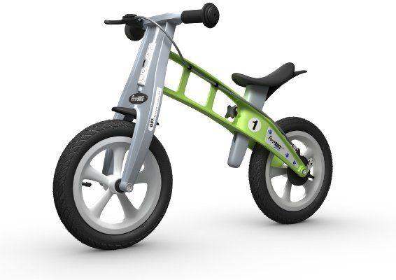 FirstBIKE Street Bike with Brake, Green:Amazon:Toys & Games