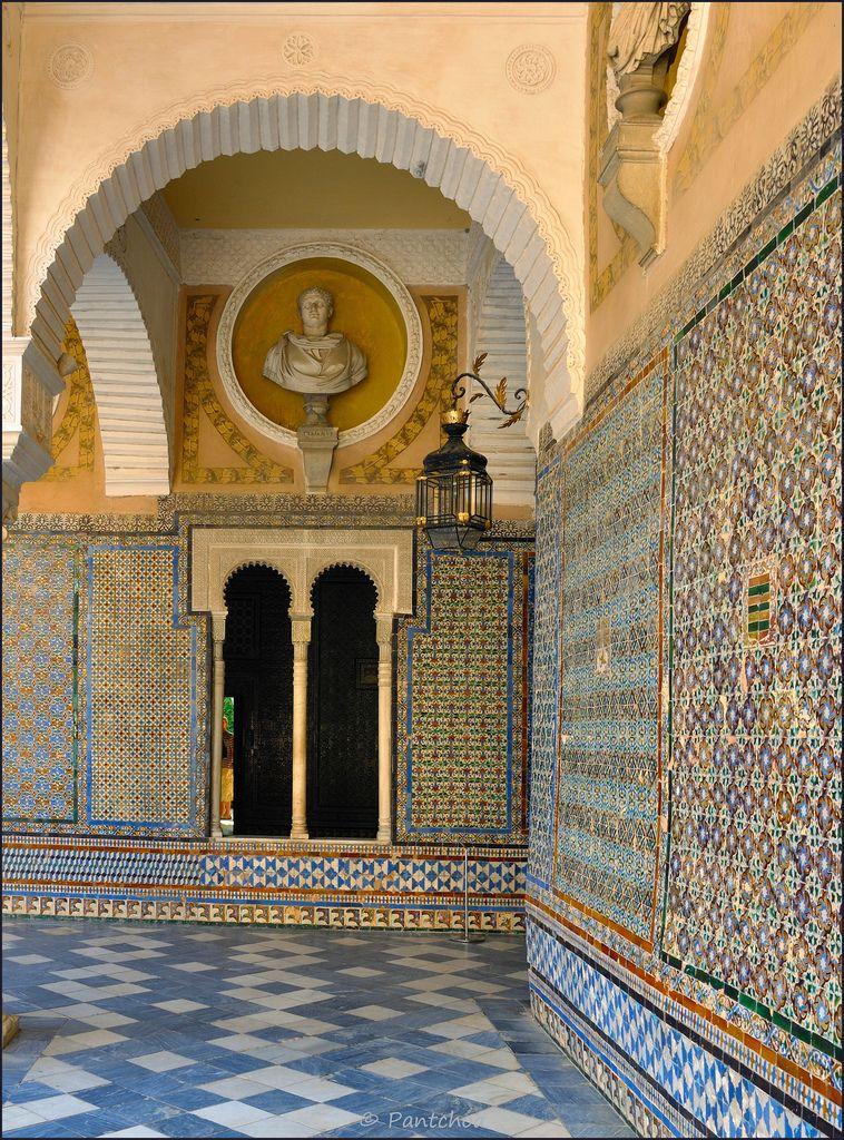Sevilla : Casa de Pilatos : Azulejos ( Titles )