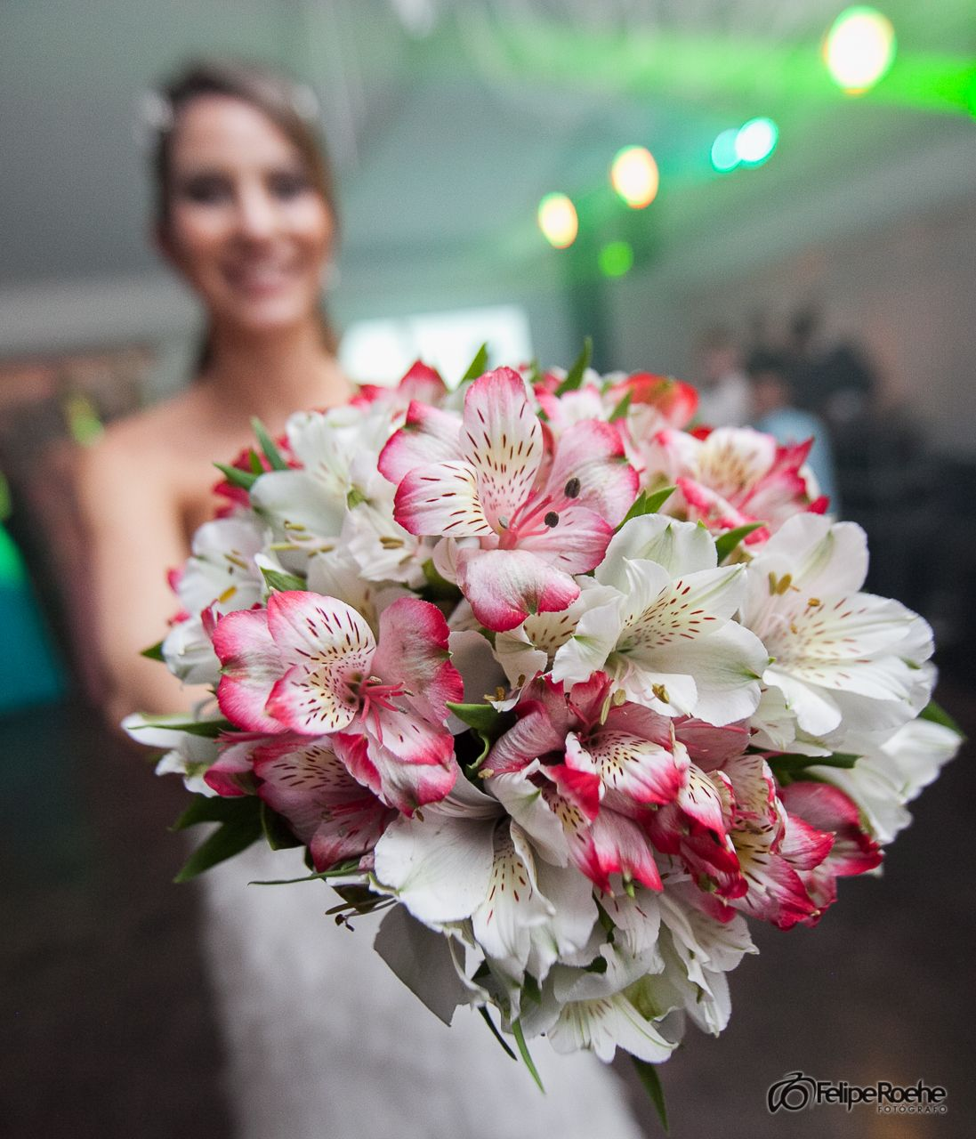 Buque para jogar | Wedding buquet. Casamento Debora e Felippo
