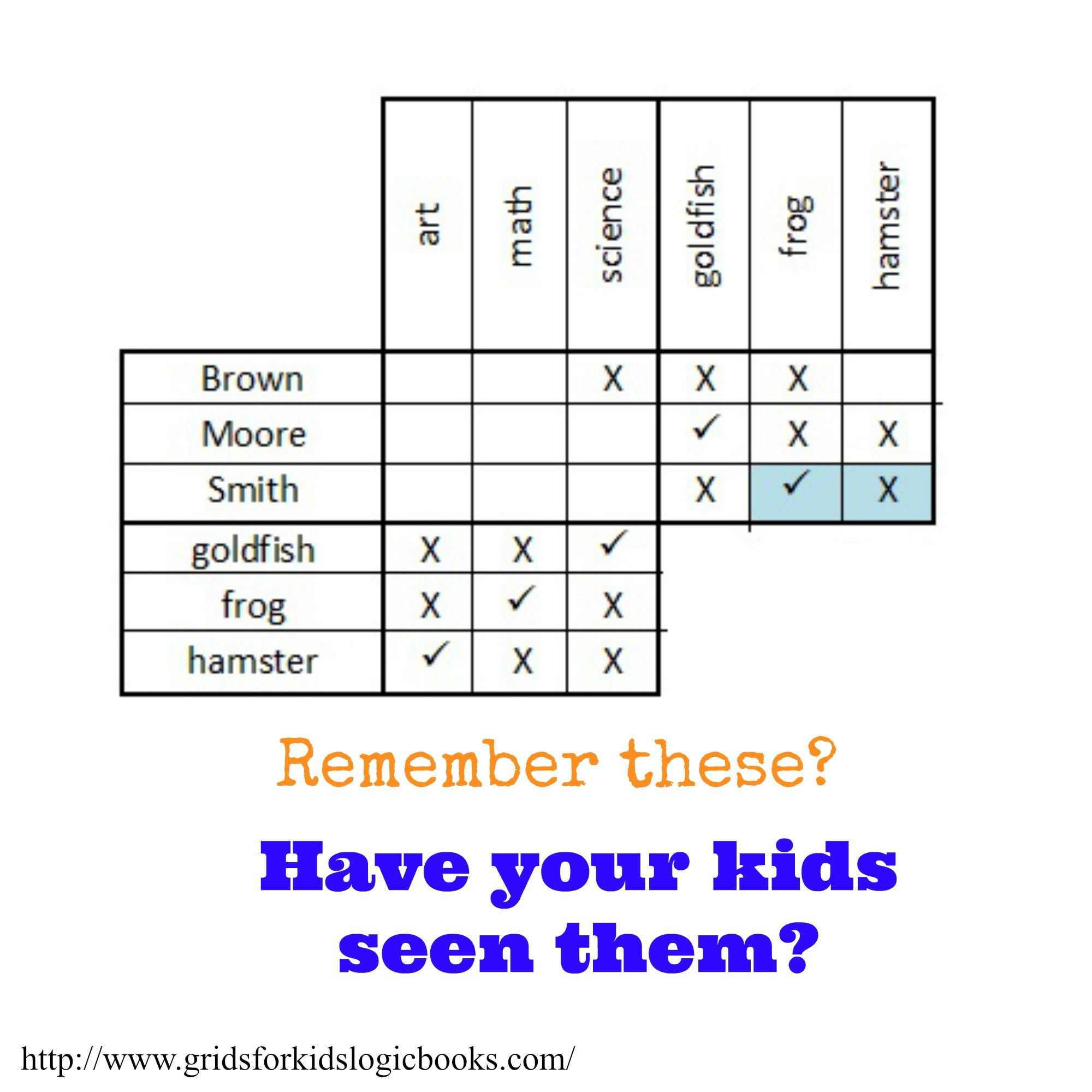 Have Some Family Fun And Teach Your Children Logic Puzzles