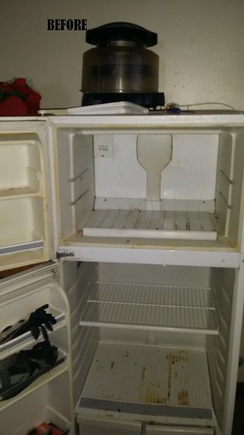 Diy Repurposed Refrigerator For Tool Storage Old Refrigerator Refrigerator Storage Tool Storage Diy