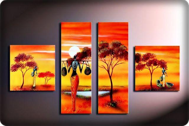 El rincon de mis aficiones pintura modernista cuadros for Cuadros pintados a mano