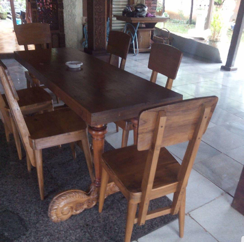 For Sale Meja Jati Ukiran Solid Teak Wood Antique Table