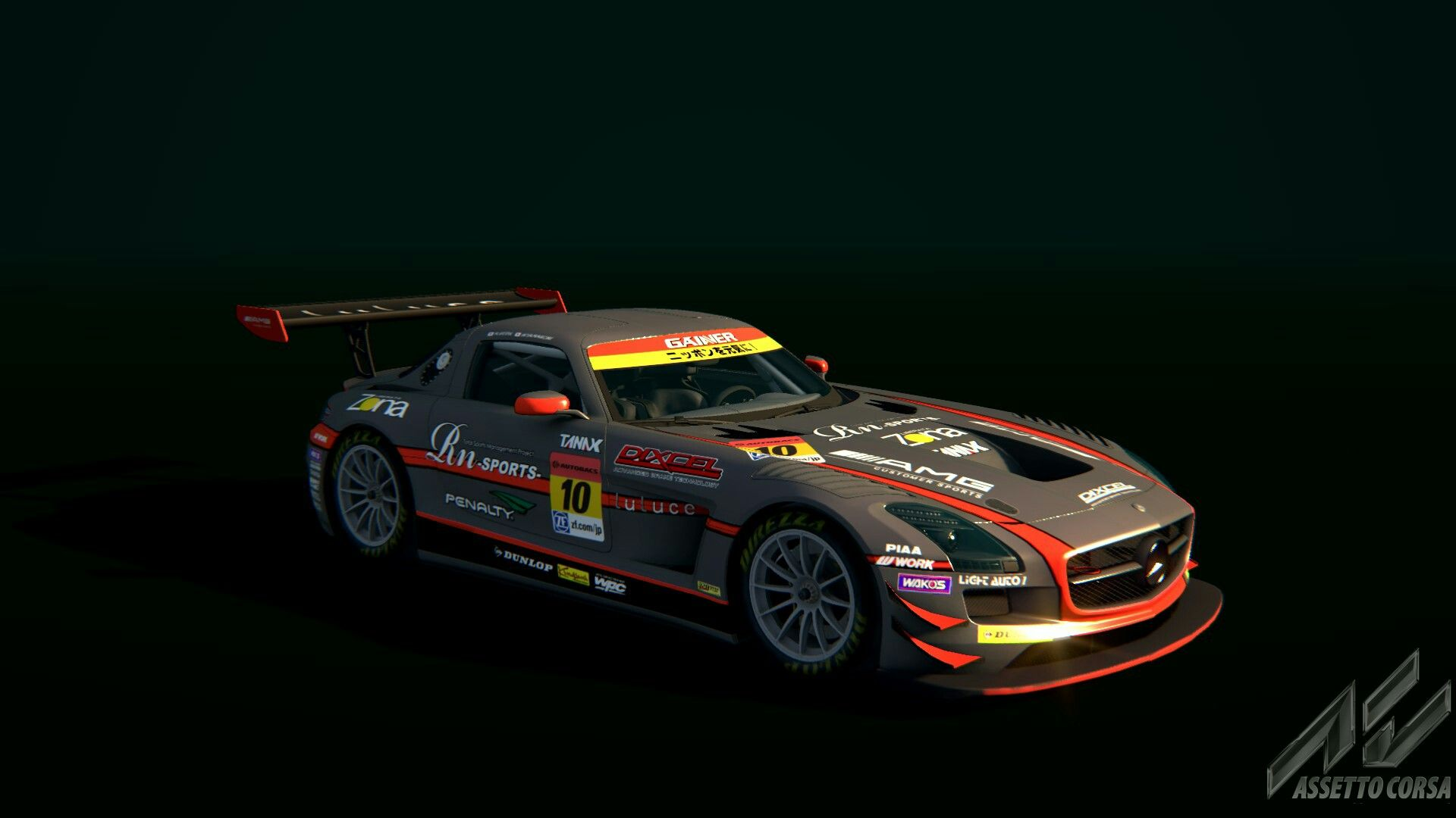 JAPAN SUPER GT 2014 SLS GT3 Skins RaceDepartment