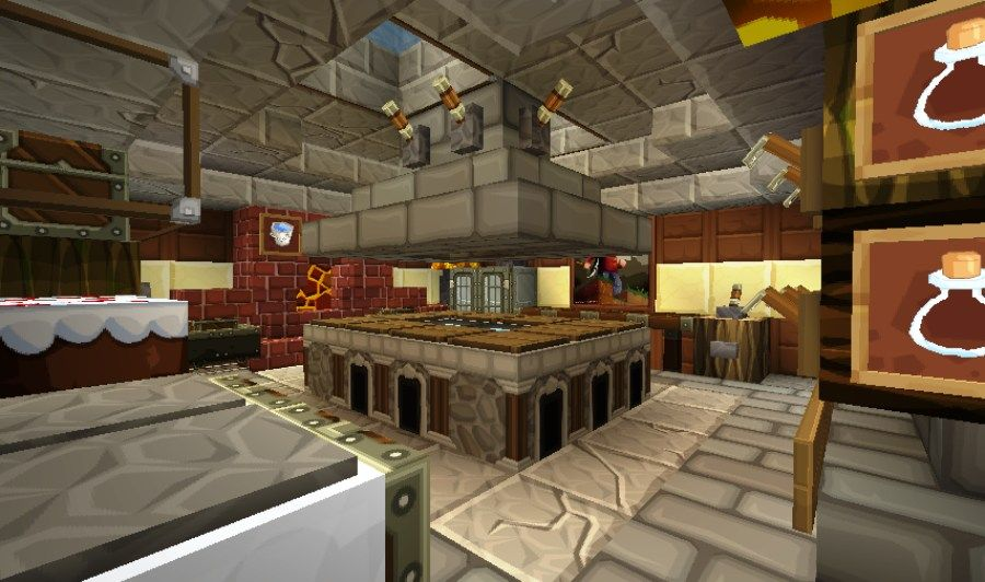 kitchen furniture in minecraft - You can see and find a ...