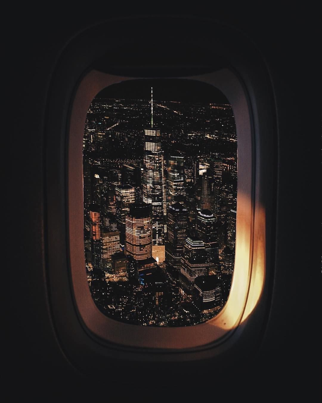 4 932 Likes 48 Comments Nycgo Nycgo On Instagram Another Spectacular Plane Window View Of Nyc This One Perfectly F Plane Window View Plane Window City
