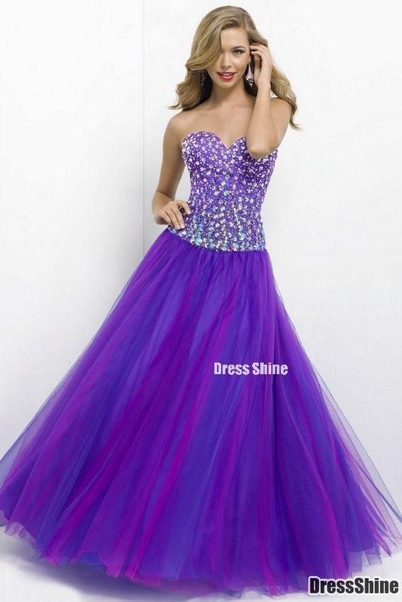 Purple prom dress | Dresses | Pinterest