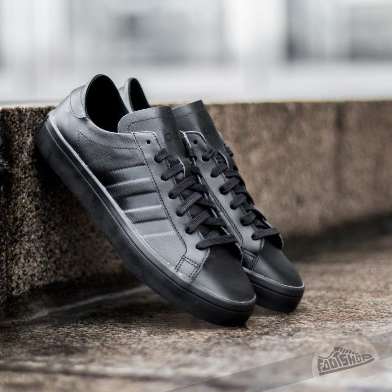 02b5738bec5b adidas Court Vantage W Core Black  Core Black  FtwWhite - Footshop ...