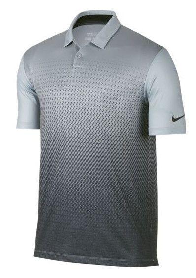 30df4cb38 Nike Golf Shirts Mobility Fade Print Polo Men s Activewear