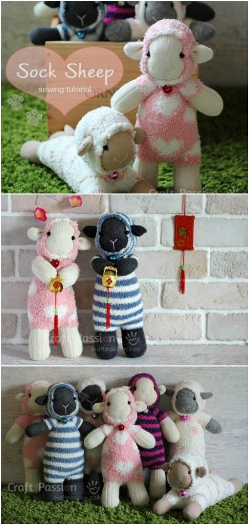 25 Hopelessly Adorable DIY Sock Toys {Quick and Easy Projects ...