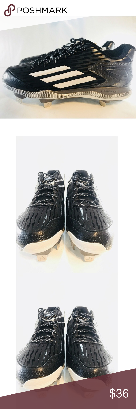 cheap for discount 01ae8 6eb18 Adidas Power Mens Baseball Cleats Performance 8 Brand NEW, box NOT  included, pair of