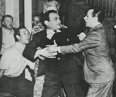 Image result for george raft and edward g robinson fight photos