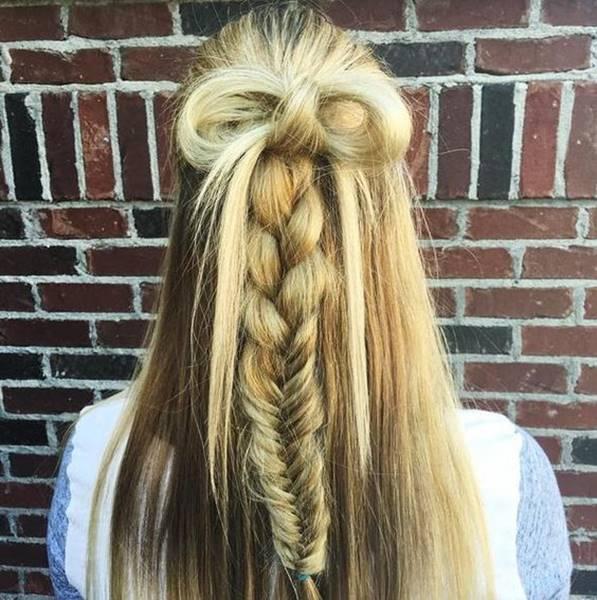 اجمل تسريحات شعر طويل ناعمة و مرفوعة للاعياد و المناسبات Longhairstyles Dutchbraid Stylishhair موضة تسريح Hair Styles Braided Hairstyles Pretty Hairstyles