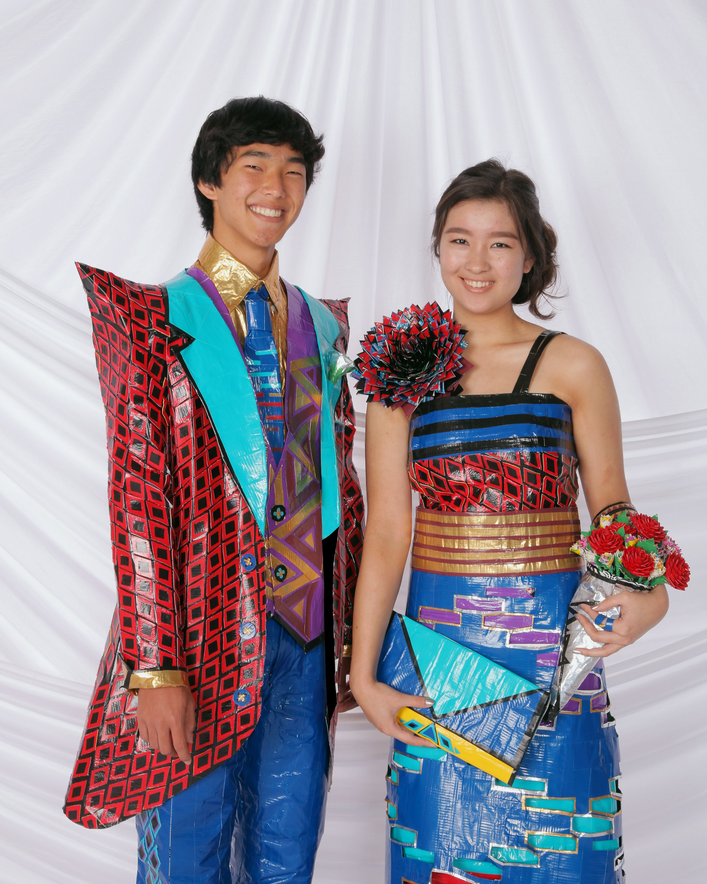 Duck Tape Prom Outfits - Kelvin & Kailie Entry #: 5920   Unique and ...