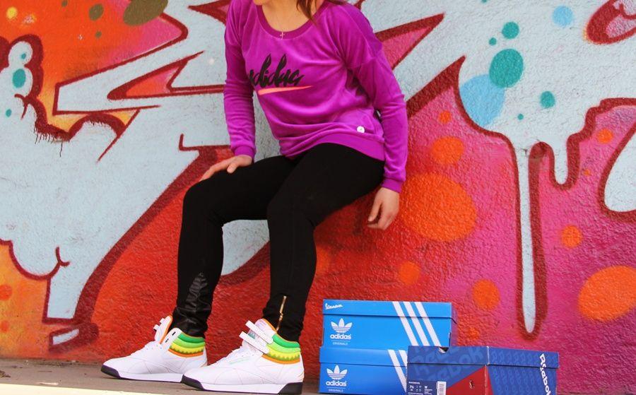 new product 8ca8a 03eeb Damskie buty Reebok Freestyle Hi Sushi International Edition. Obuwie Reebok  jest super!!!