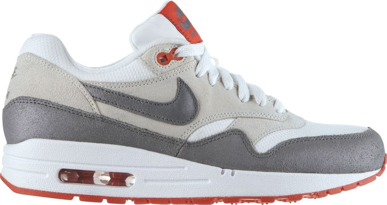 Embutido colgante por qué  Nike Air Max 1 Essential Wmns white/cool grey/light base/light crimson |  Nike air max, Nike air, Nike