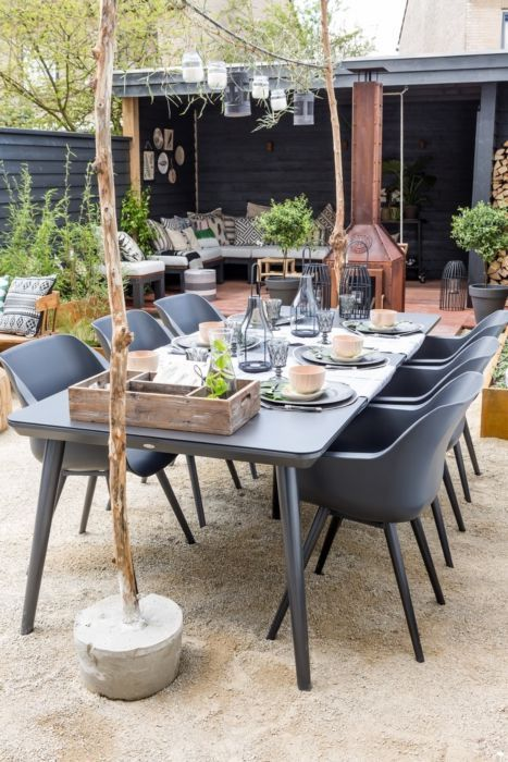 Gartentisch Mit St Len