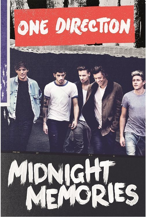 One Direction Midnight Memories Poster One Direction Posters One Direction Midnight Memories Poster Midnight Memories
