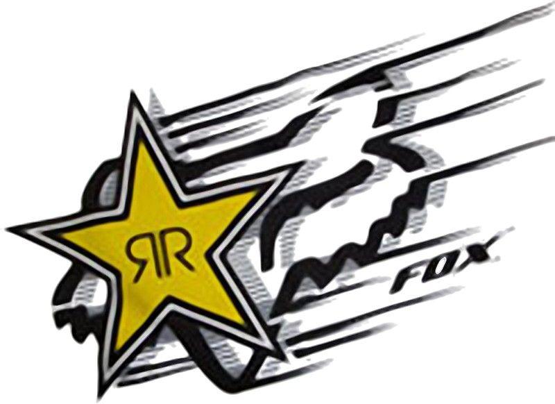 Fox Y Rockstar Energy Drink Logotipo Rockstar Energy Rockstar Energy Drinks Fox Racing Logo
